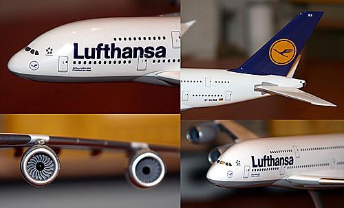 Lufthansa Airbus A380-800 1:200 Limox Wings Modell LH22 380 LH Berlin D-AIMI