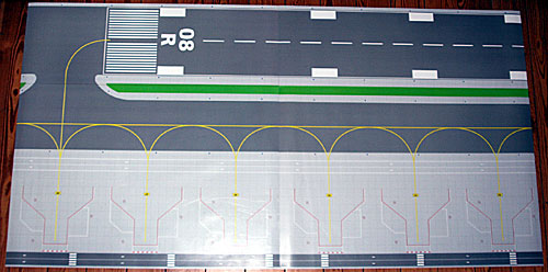 Spielzeug Flughafen Layout Matten 199x103cm 1 200 Und 1