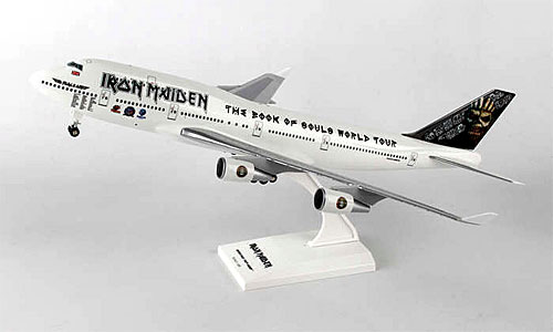 flugzeugmodelle iron maiden boeing 747 400 1 200 premiummodell flugstatistik shop. Black Bedroom Furniture Sets. Home Design Ideas