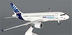Airbus - House Color - Airbus A319 - 1:150 - PremiumModell