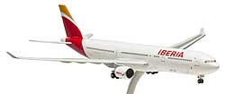 Iberia AIRBUS a330-300 1:200 HOGAN Wings modello 0281 NUOVO con telaio Set